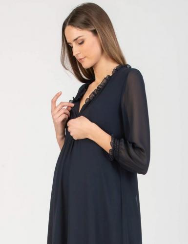 Attesa, Kleid mit Still-Funktion, petrolblau,XS-XXL€ 109,95