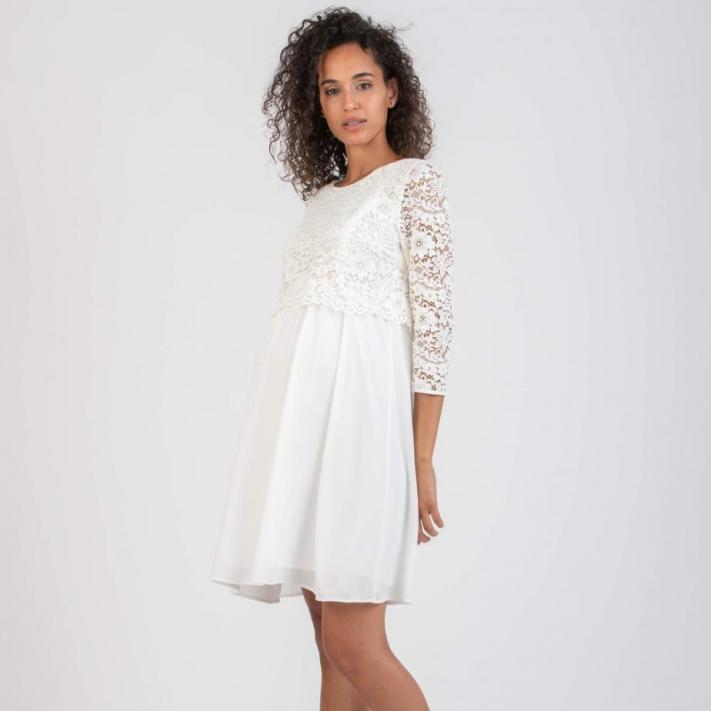 Attesa Kleid mit Stillfunktion,XS - XXL,cremeweiß und andere Farben,€ 139,95