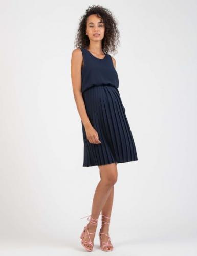 Attesa, Crêpe-Kleid, mit Still-Funktion, grau, blau und rosa,XS - XXL, € 129,95