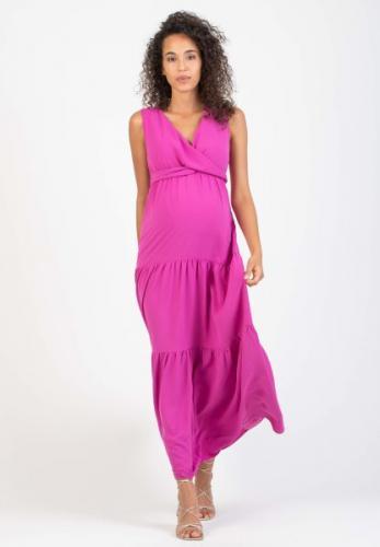 Attesa, Maxikleid mit Stillfunktion nur rosa und kornblau (siehe Blusenkleid auf dieser Seite),XS - XL, € 89,95