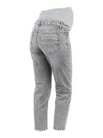 mamalicious, comfort-fit Jeans, verkürzt, grey denim, 26/32-31/32, € 59,95
