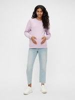 mamalicious, cropped Jeans, light wash, 26/32-31/32, € 54,95